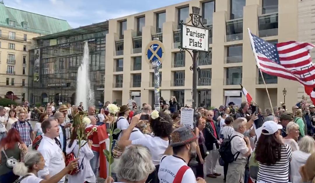 Historisches Ereignis – Demo Berlin